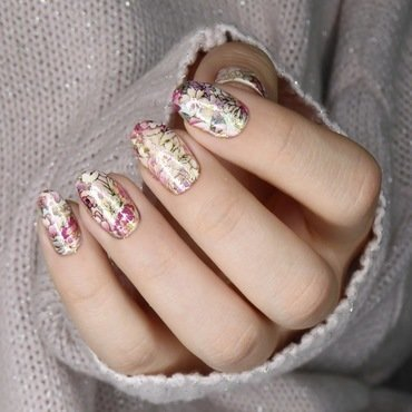 Baroque nails nail art by barbrafeszyn