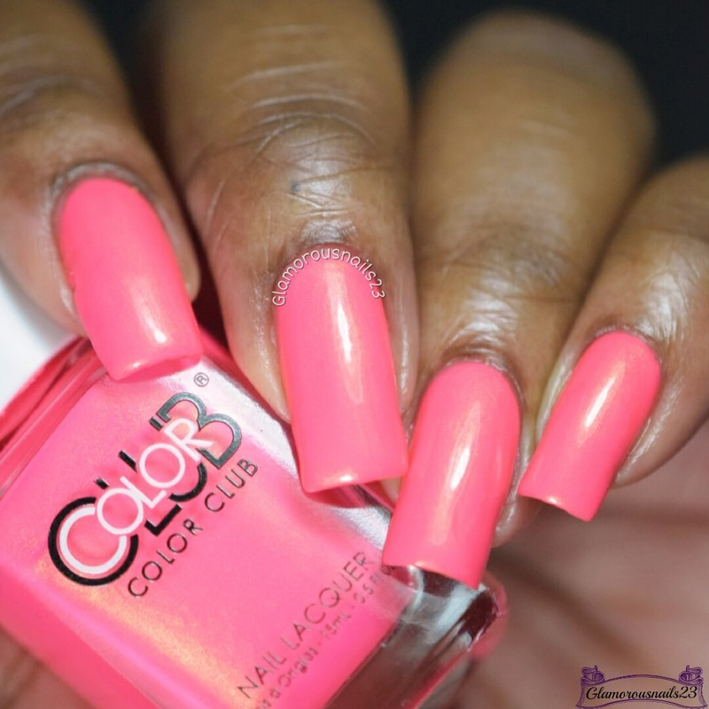 Color Club Peace, love and polish Swatch by glamorousnails23