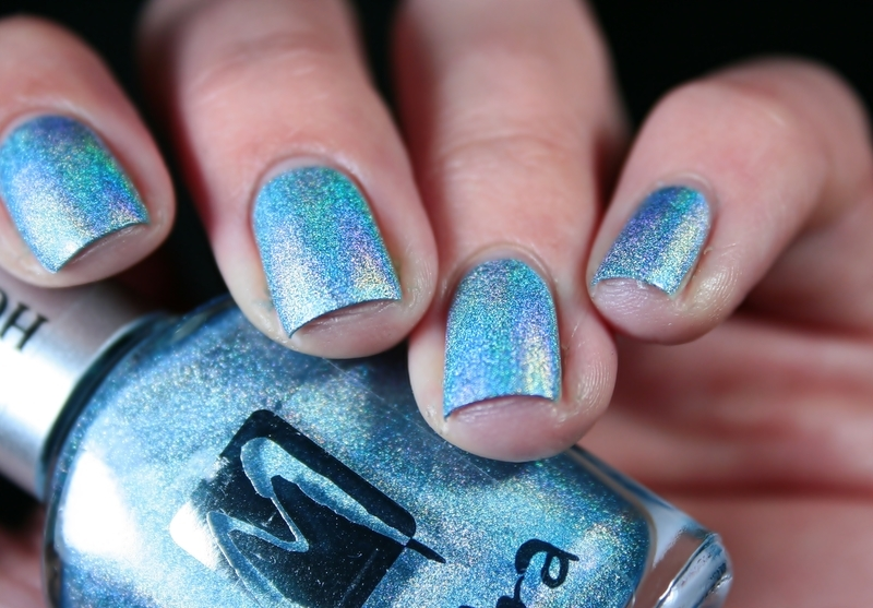 Moyra Holographic 254 Swatch by Romana