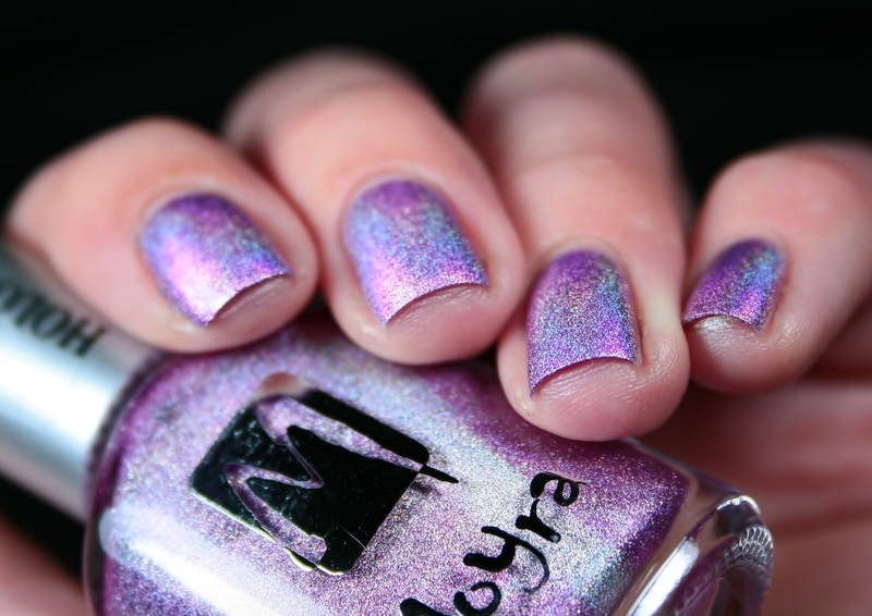 Moyra Holographic 255 Swatch by Romana