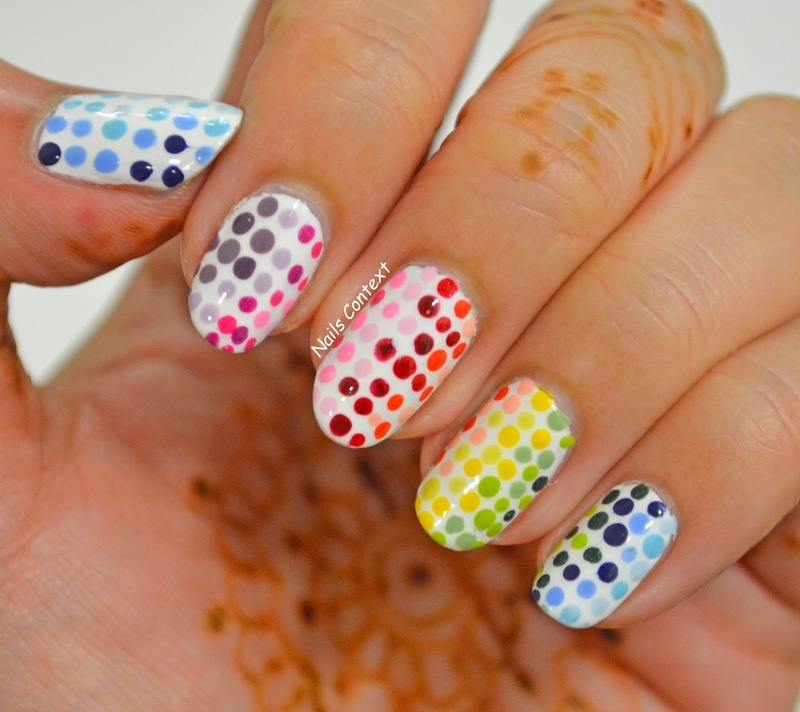 Happy New Year nail art by NailsContext