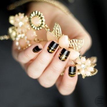 Striping Tape Nailart nail art by Sabrina