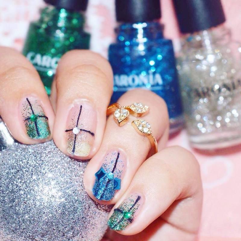 The Three Gifts nail art by ℐustine - Nailpolis: Museum of Nail Art