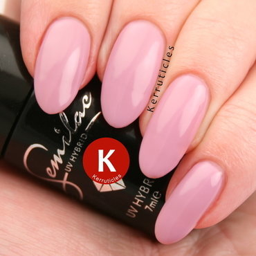 Semilac 057 Nude Beige Rose Swatch by Claire Kerr