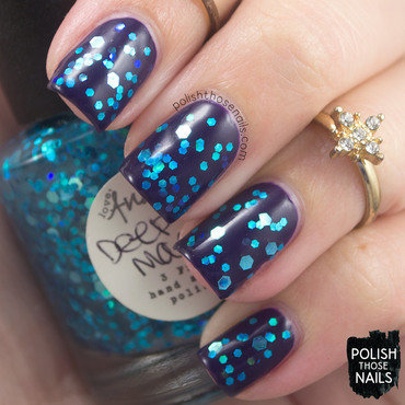 Love, Angeline Deep Magic Swatch by Marisa  Cavanaugh