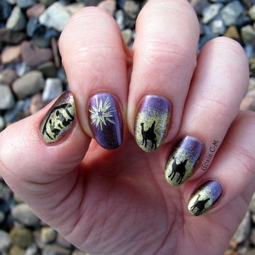 Epiphany nail art by Nail Crazinesss