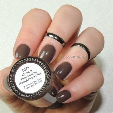 Masura Rum & Brownie - 1071 Swatch by Ka'Nails