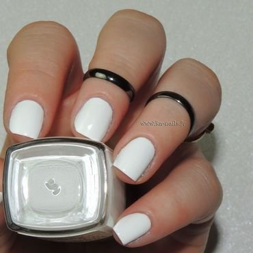 LM Cosmetic Blanc N°1 - Stamping Swatch by Ka'Nails