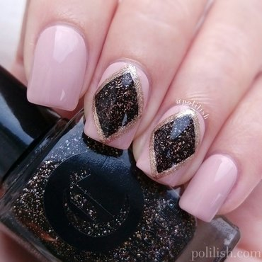 Gemstone-inspired design nail art by polilish