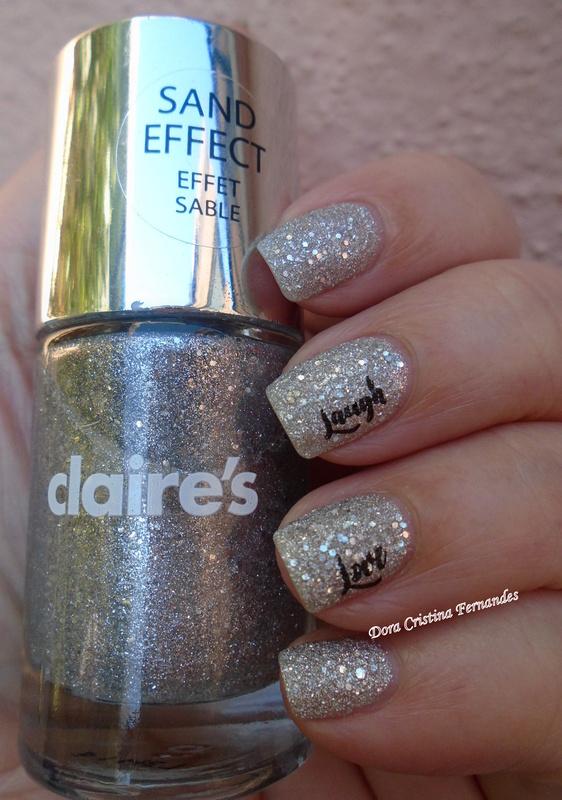 New Year's Eve Nails nail art by Dora Cristina Fernandes
