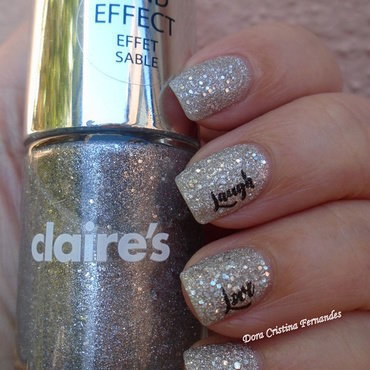 New Year's Eve Nails nail art by Dora Cristina Fernandes