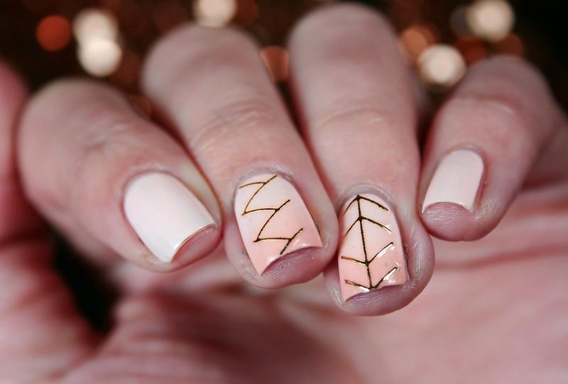 Jewelry nail art by Romana