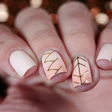 Jewelry nail art by Romana