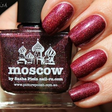 piCture pOlish Moscow Swatch by Kay's Polish