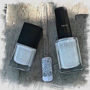 Day 10 @gelulicious #31dnc2017 : White  nail art by Avesur Europa