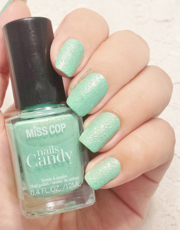 Miss Cop Candy Pomme Swatch by klo-s-to-me