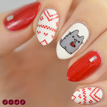 Pusheen 20nails 203 thumb370f