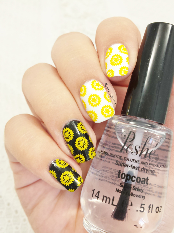 Mundo de Unas Yellow Swatch by klo-s-to-me