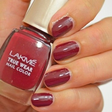 Lakme 417 Swatch by NailsContext