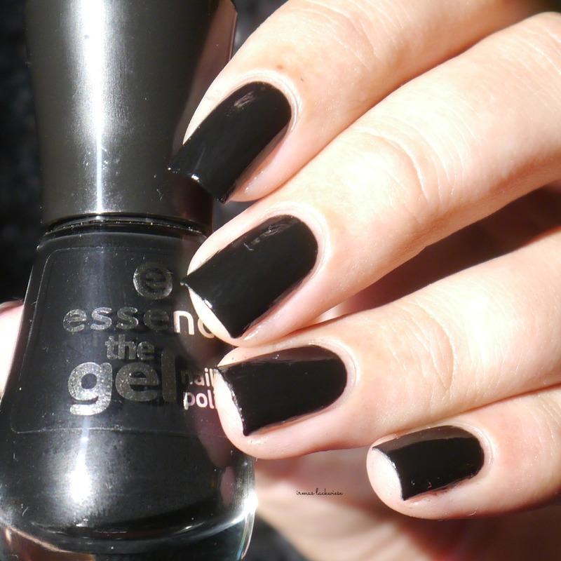 Essence Black is back Swatch by irma
