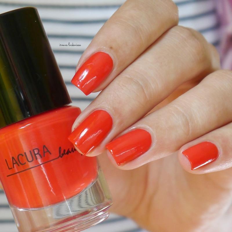lacura beauty strawberry Swatch by irma