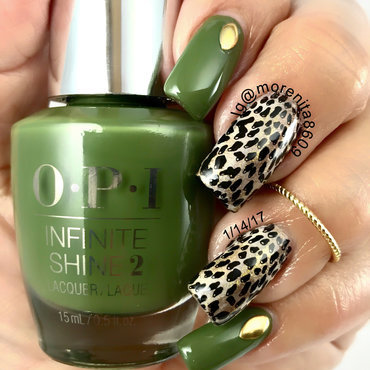 Animal Print Nails nail art by Morenita  Morena