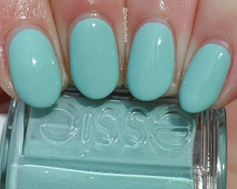 Essie Mint Candy Apple Swatch by Plenty of Colors