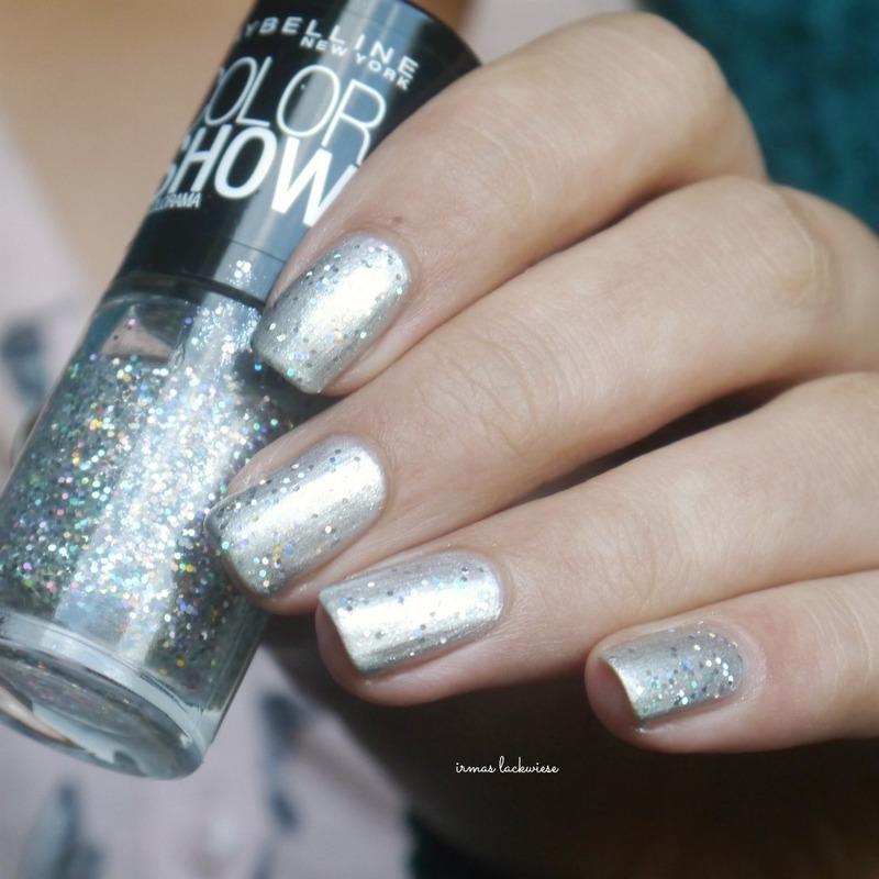 Maybelline Glitter it Swatch by irma