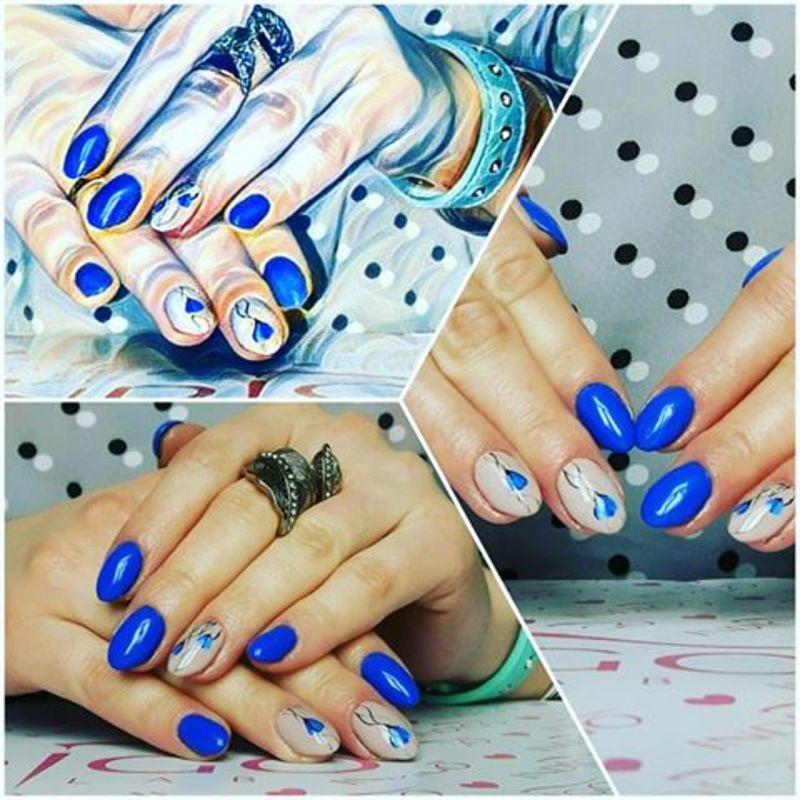 Manifique  nail art by Ewa EvaNails