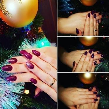 Gel nail art by Ewa EvaNails