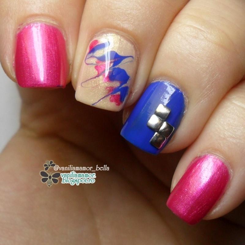 k nail art by Isabella