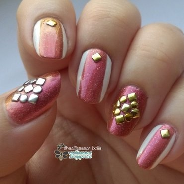 k nail art by Isabella