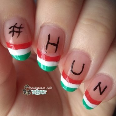 hun nail art by Isabella
