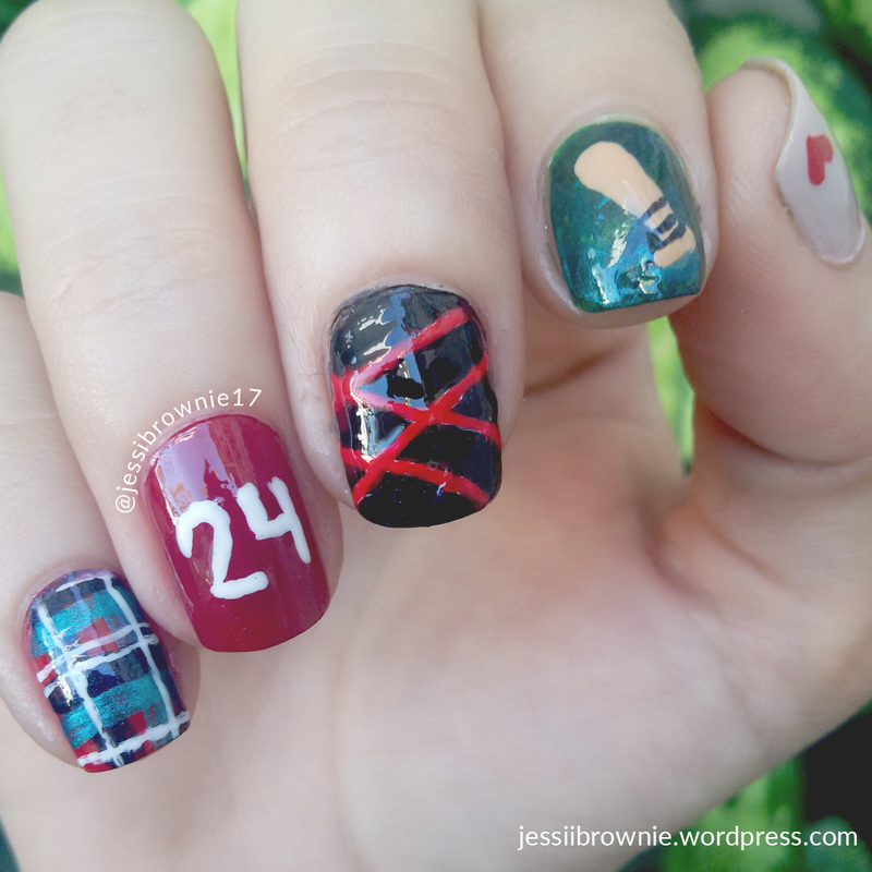 Save Stiles nail art by Jessi Brownie (Jessi)