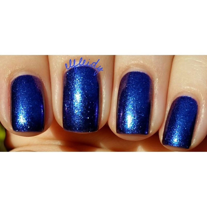 KBShimmer Royal to a Fault Swatch by Jenette Maitland-Tomblin