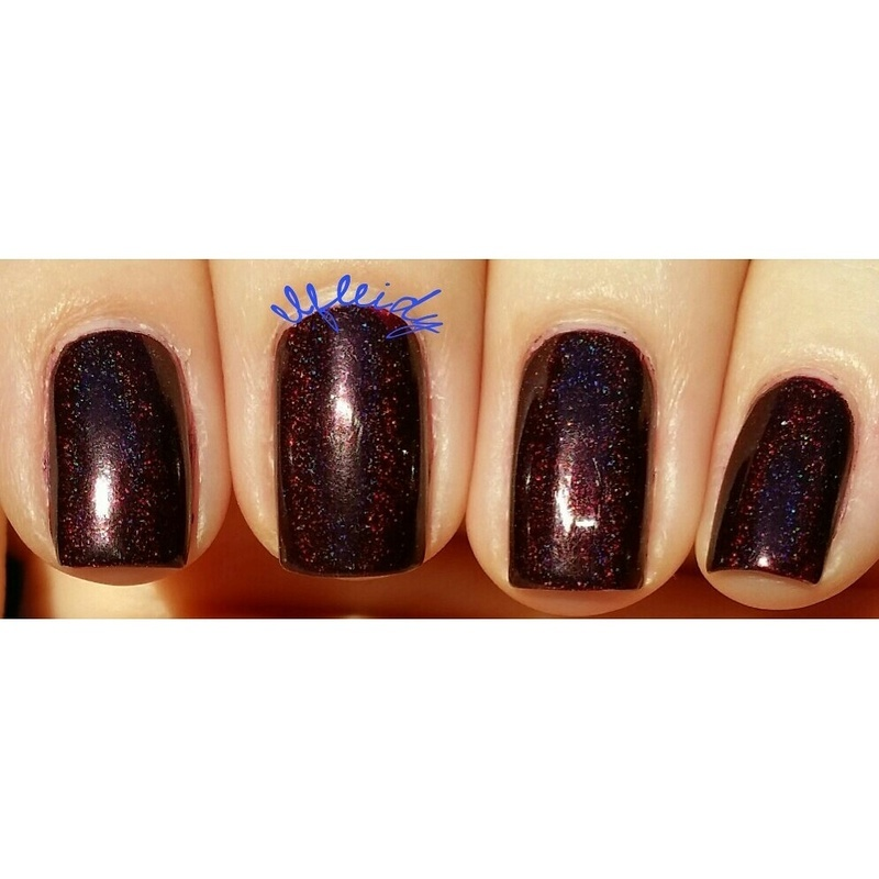 Cupcake Polish Bloodhound Swatch by Jenette Maitland-Tomblin