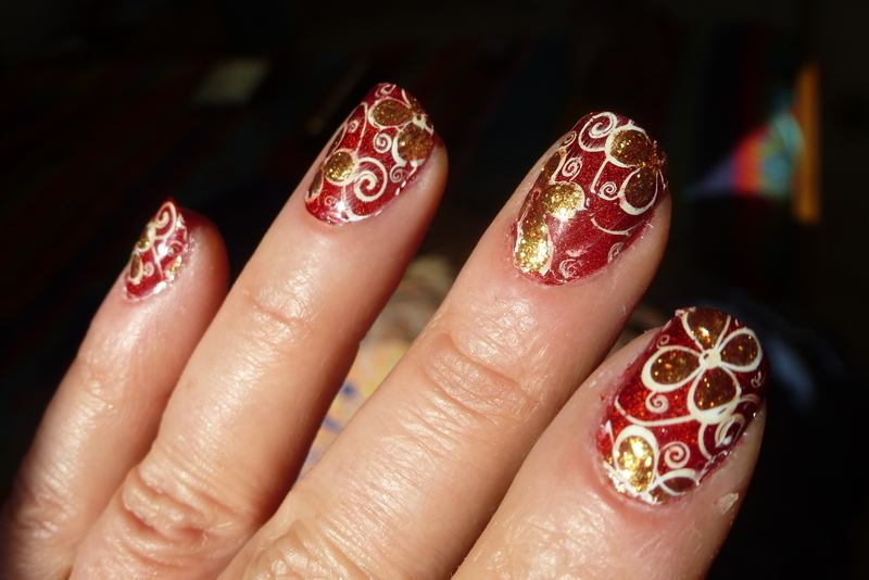 Late ! nail art by Barbouilleuse