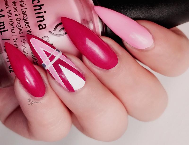 Feel the breeze nail art by Nanneri