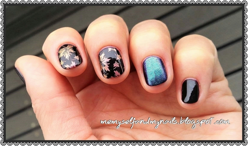 AUTUMN nail art by ELIZA OK-W
