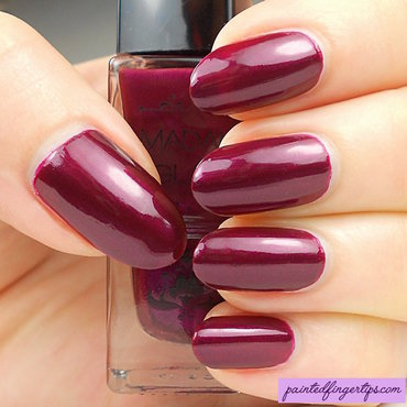 Madam Glam Wine Divine Swatch by Kerry_Fingertips