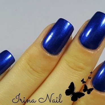 Blue nails by Irina Nail