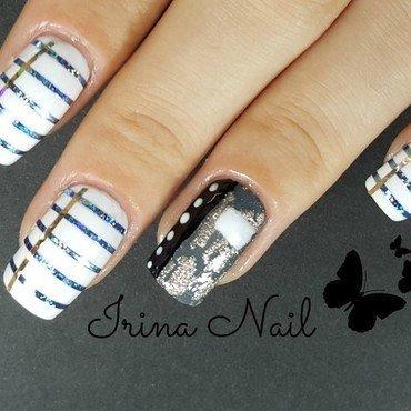 Notebook nails nail art by Irina Nail