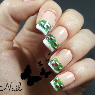 Winter Nails nail art by Irina Nail