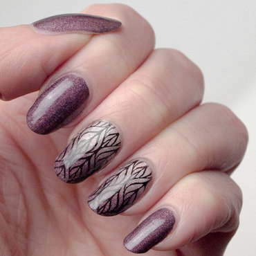 Grown up elegance nail art by What's on my nails today?