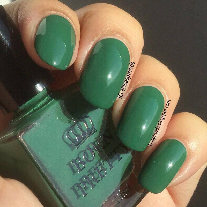 Born Pretty Store BPR005 Green Swatch by Isabel