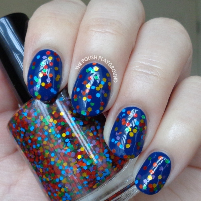 Amy's Nail Boutique Fiesta Swatch by Lisa N