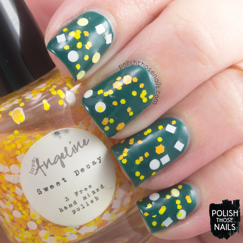 OPI AmazON...AmazOFF and Love, Angeline Sweet Decay Swatch by Marisa  Cavanaugh