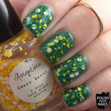 Love angeline indie polish nail art sweet decay glitter squiggle pattern 3 thumb370f