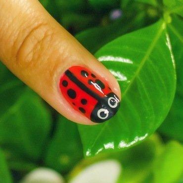 Lady Bug Nail! nail art by Gabrielle
