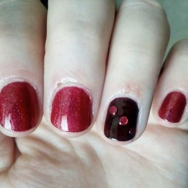 Are you red-y ? nail art by Stephanie